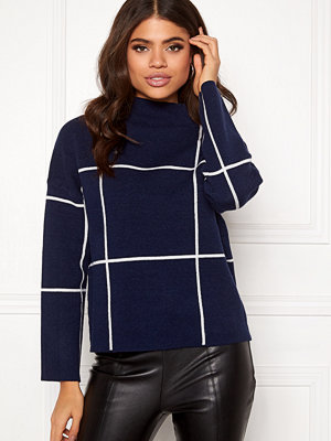 Selected Femme Tess LS Knit T-Neck