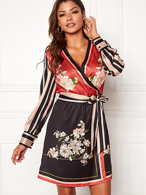 Chiara Forthi Marienela Scarfs Print Dress