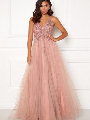 Christian Koehlert Sparkling Tulle Dream Dress Dawn Pink