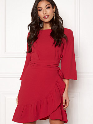 Vero Moda Cita 3/4 Bell Wrap Dress