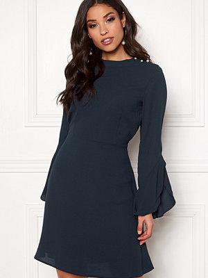 Vila Sarina L/S Pearl Dress