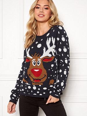 Only X-mas Bell Reindeer L/S