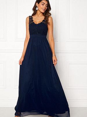 Chiara Forthi Daisy gown Dark blue