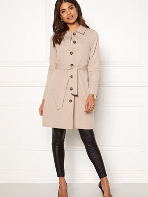Happy Holly Scarlett coat Light beige