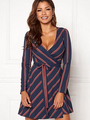 Chiara Forthi Lavinia woven wrap dress
