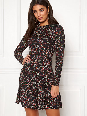 New Look Print L/S Flower Dress