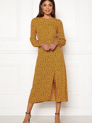 New Look Floral Split Mid Dress