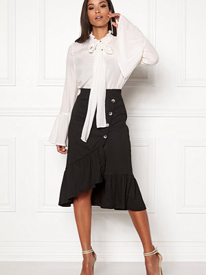 Vero Moda Emily Button Wrap Skirt