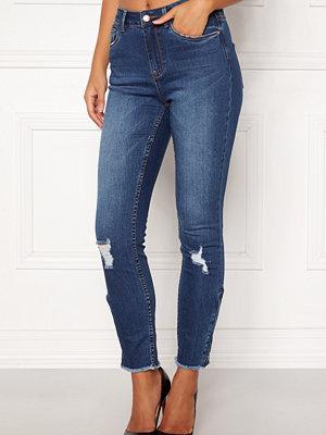 77thFLEA Laurel HW zip jeans