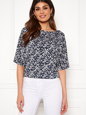 Boomerang Julia Printed Top Blue Nights