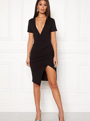 Ivyrevel Deep V-neck Slit Dress