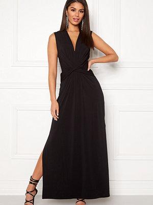 Ivyrevel Drape Front Slit Dress