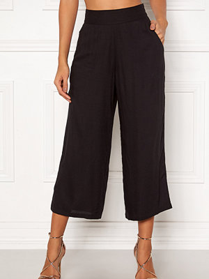 Happy Holly svarta byxor Addy wide pants