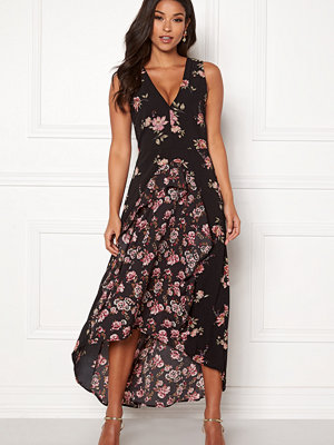 Ax Paris Floral V Neck Maxi Dress