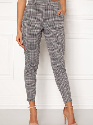 Bubbleroom grå rutiga byxor Brienne trousers