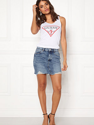 Only Sky Reg Denim Skirt