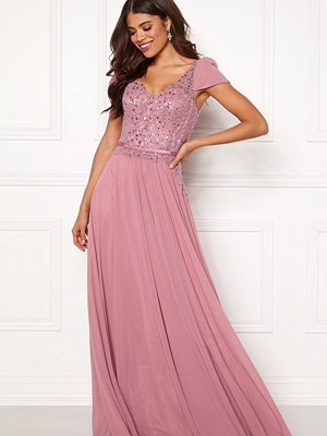 Susanna Rivieri Short Sleeve Prom Dress