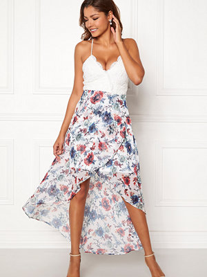 Chiara Forthi Floreale highlow dress