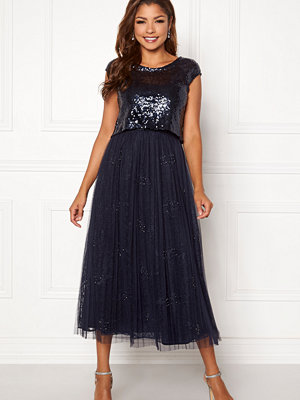 Chiara Forthi Estelle sequin top gown