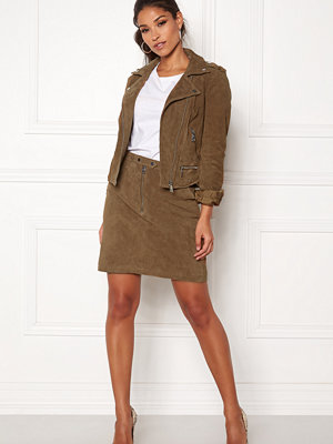 Vero Moda Garbo Suede Short Skirt