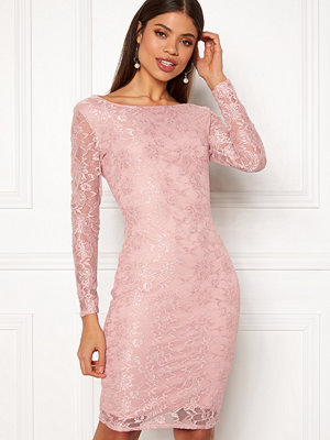 Goddiva Long Sleeve Midi Dress