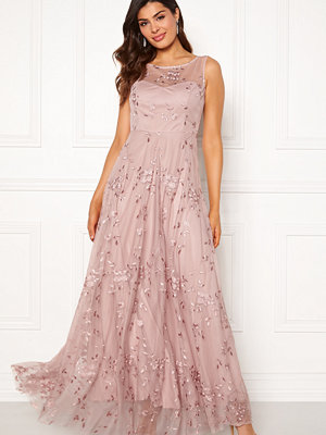 Goddiva Embroidered Maxi Dress