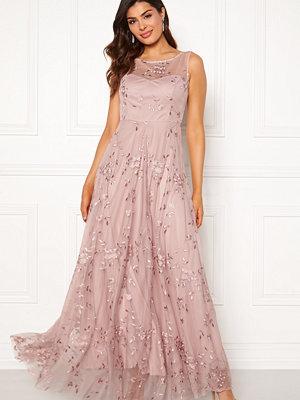 Goddiva Embroidered Maxi Dress