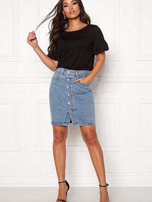 Levi's Button Thru Mom Skirt