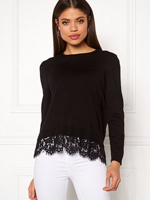 Tröjor - Only Cilla L/S Lace Pullover