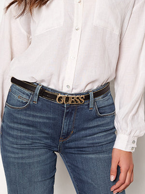 Guess Metal Chain Logo Belt