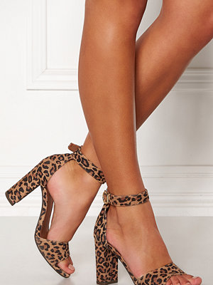 Pumps & klackskor - Billi Bi Leopard Suede Sandals