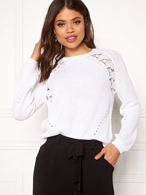 Only Maga L/S Lace Pullover