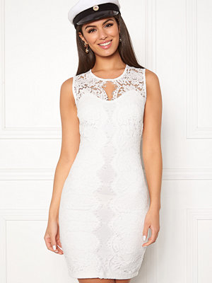 Chiara Forthi Corso scallop lace dress White