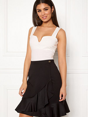 Chiara Forthi Bettina deep v-neck top