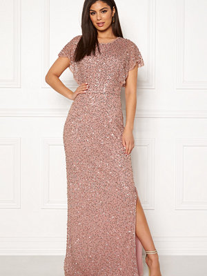 Angeleye Allover Sequin Maxi Dress