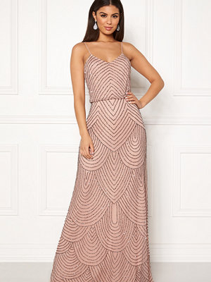 Angeleye Strappy Sequin Maxi Dress