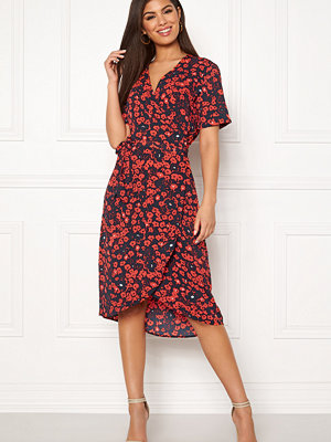 Selected Femme Lily 2/4 Wrap Dress
