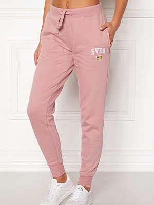Svea gammelrosa byxor Maj Sweat Pants