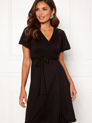 Happy Holly Ivy wrap dress
