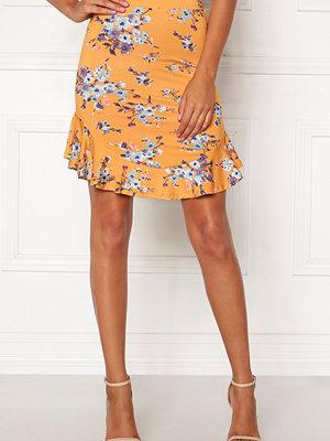 Kjolar - Chiara Forthi Nunzia frill jersey skirt