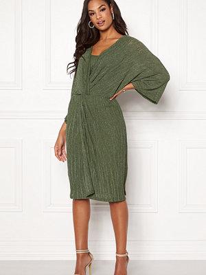 Object Storm 3/4 Jersey Lurex Dress