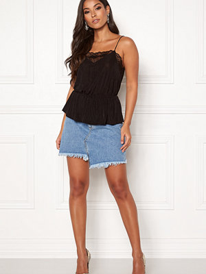 Ivyrevel Raw Edge Denim Skirt
