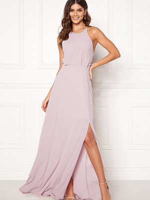 Moments New York Heather Crepe Gown Pink