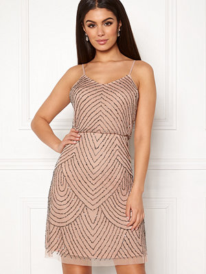 Angeleye Strappy Sequin Mini Dress