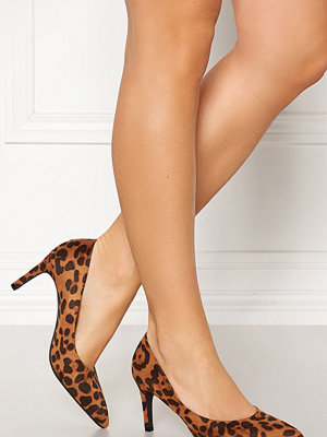 Francesco Milano Leopard Pump