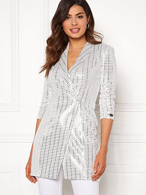 Chiara Forthi Celebrity sequin blazer dress
