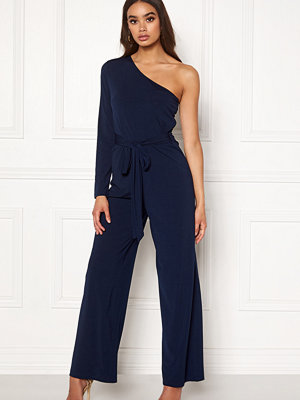 Ax Paris One Shoulder Jumpsuit