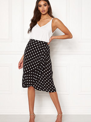 Ax Paris Blouson Polka Dot Dress