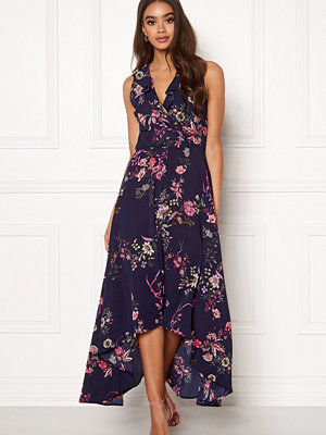 Ax Paris Floral Wrap Maxi Dress