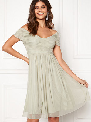Moments New York Lily Draped Dress Dusty green